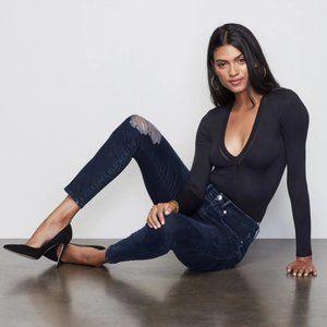 NWT Good American Good Legs High Waisted Skinny Sculpting Stretch Denim Jeans 31